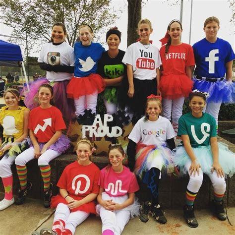 social media cute group halloween costumes cute
