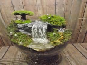 Chic dining room ideas mini fairy garden with waterfall fairy garden