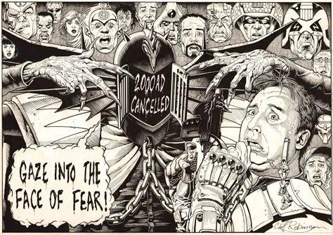 dark judges wallpaper 2000ad cover dark judges to judge dredd s day of chaos