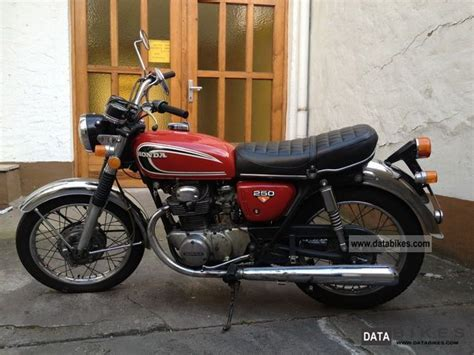honda cb250 k4 1973 model gold vintage classic honda 1972 honda cb 250