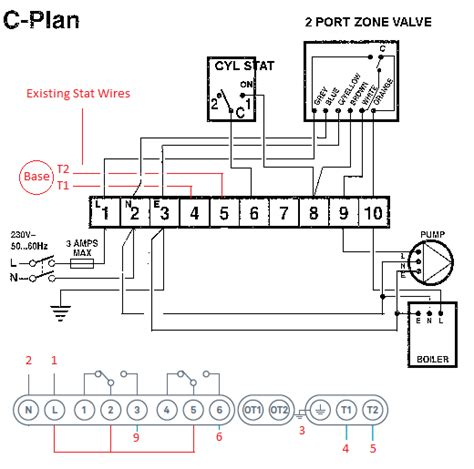 nest thermostat with boiler wiring diagram get free