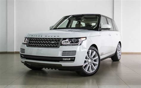 land rover white 2015 range rover vogue