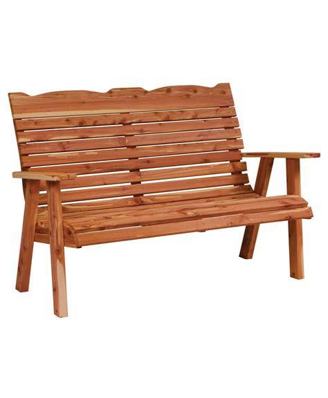loveseat bench straightback loveseat bench amish direct furniture