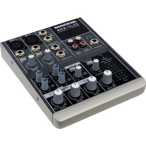 mackie 402 vlz3 compact audio mixer music123