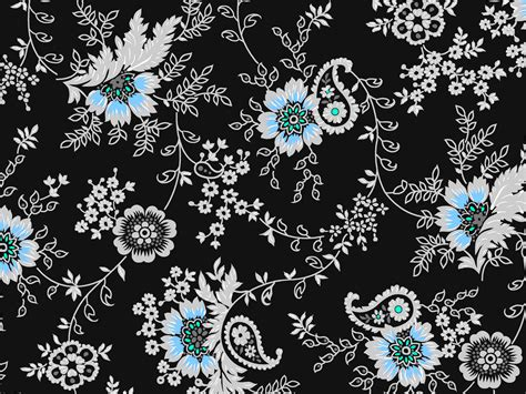 wallpaper batik simple blue flower batik background blog bibleclipart