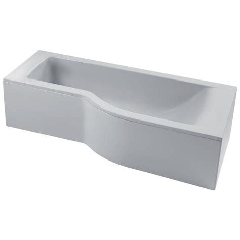 space saving bathtub ideal standard e0189 space saving bathtub 170x70 cm left version