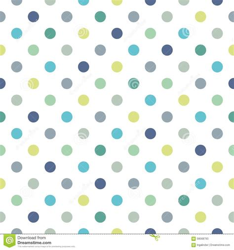 pattern background green blue tile vector pattern with blue and green polka dots on