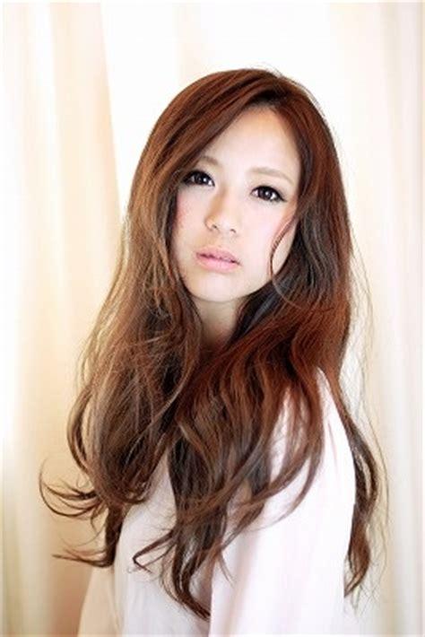 digital ferm photos long hair styles long layers with digital perm hair pinterest