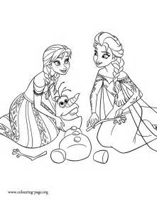 coloring pages of frozen coloring pages of from frozen