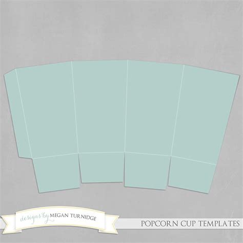 7 best images of diy printable templates popcorn diy
