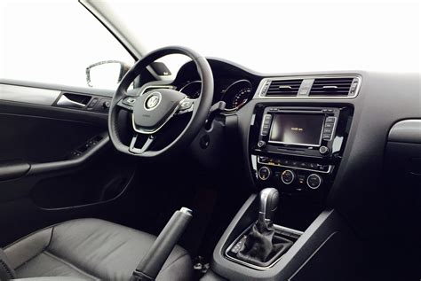 volkswagen tdi interior 2015 jetta highline black images
