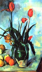 Paul cezanne post impressionist painter outside the lines