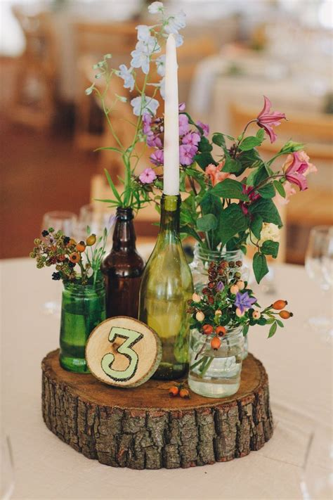 Ransel Vb Flower 911 recycled jar into wedding decorations projects ideas wedding bouquets