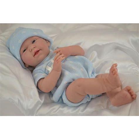 anatomically correct dolls toys r us la newborn 15 inch baby doll blue bodysuit jc toys
