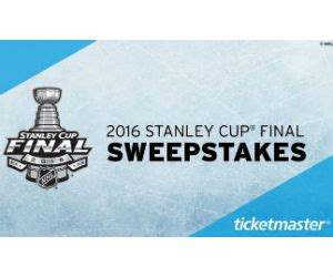 Ticketmaster Gift Card Walmart - win a trip to the 2016 stanley cup final or a nhl shop gift card free sweepstakes