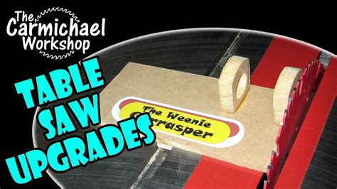 table saw dog craftsman contractor table saw upgrades sawstop dog