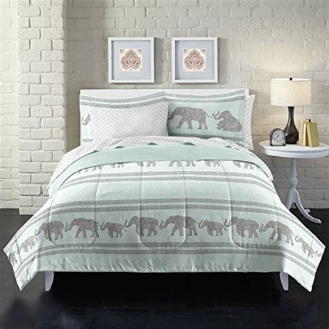 elephant bedding elephant comforter set amazon com