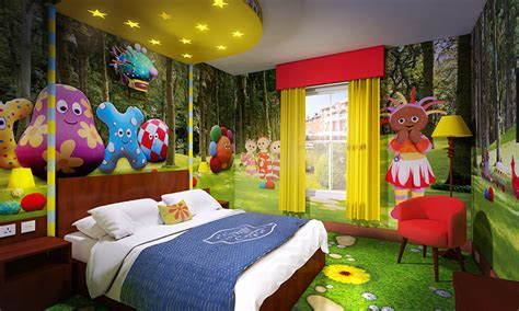 themed hotel england alton towers unveils new cbeebies land hotel with themed