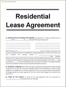 lease agreement template questionnaire template