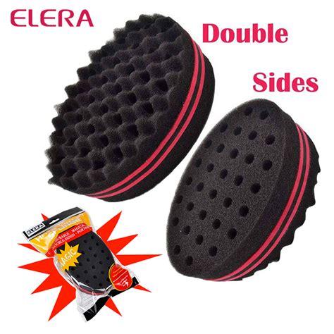 afro styling sponge elera magic twist hair brush sponge hair curl sponge