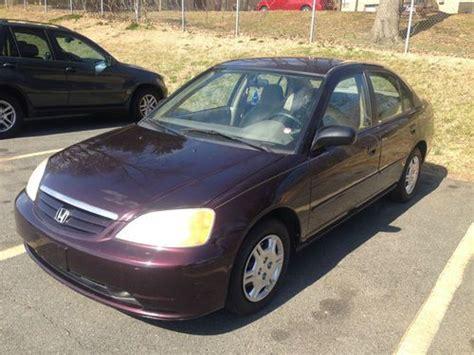 purchase used 2001 honda civic lx sedan 4 door 1 7l in