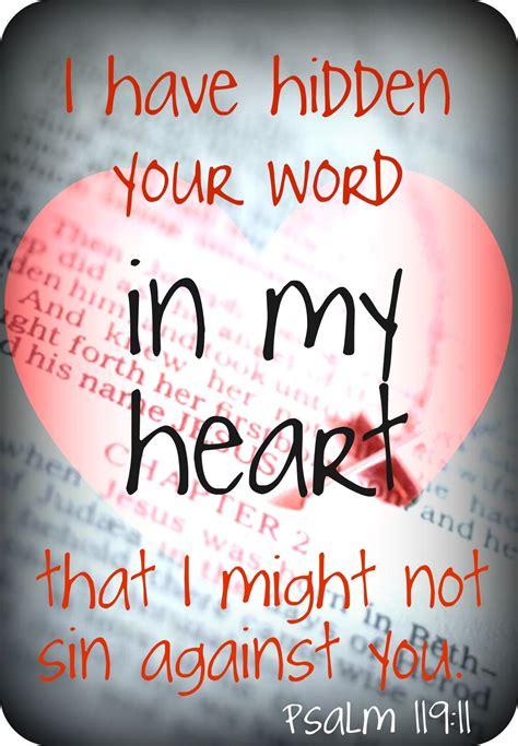 psalm 119 11 faith