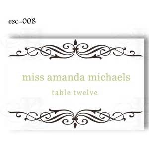 Free Placecard Template by 7 Best Images Of Free Printable Table Place Cards Template