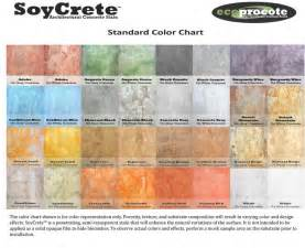 concrete stain color chart soycrete concrete stain color chart kitchen