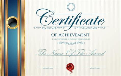 modern certificate creative design vector set 10 vector