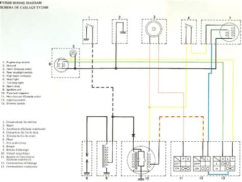 yamaha dt wiring diagram wiring diagram with description
