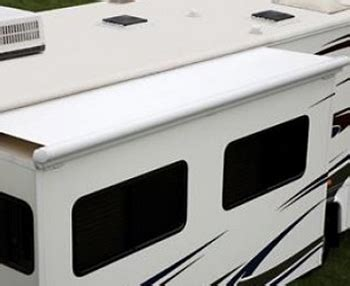 rv slide topper awnings dometic deluxe 150 quot slide topper rv awning