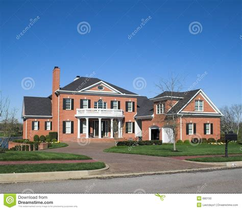 home image beautiful homes series 1a stock photo image of brick