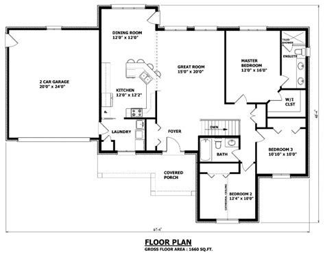 Foremost Homes Floor Plans by Canadian Home Designs Custom House Plans Stock House