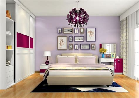 Interior Design Of Bedroom For Couples Bedroom Interior Design Purple Wall 3d House
