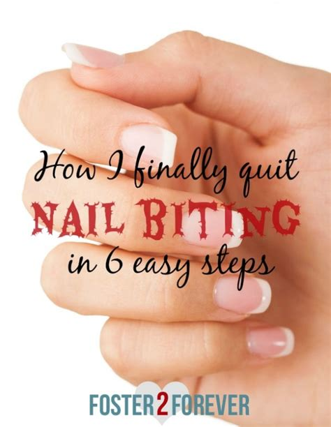Quit The Nail Biting Habit by How I Finally My Worst And Bad Habit For