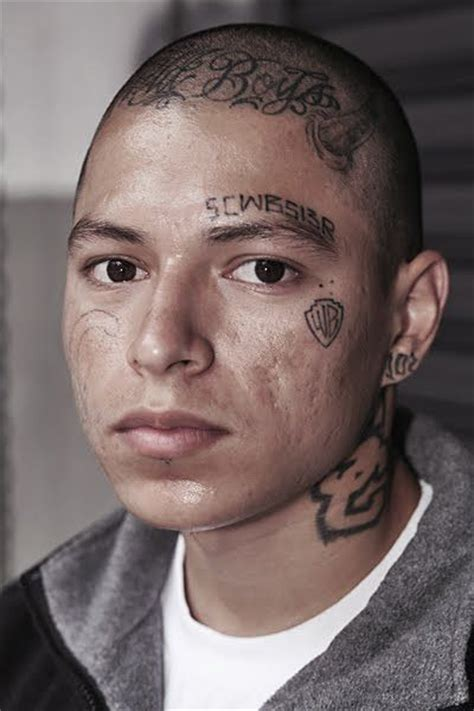above eyebrow tattoo 160 best prison tattoos gangsters and mafia images