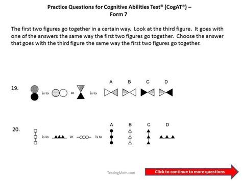 practice test 2 for the cogat form 7 grade 3 level 9 cogat grade 3 cogat grade 3 practice test for the cogat form 7 grade 3 cogat form 7 practice questions for 1st to 2nd grade