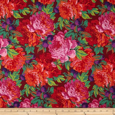 kaffe fassett home decor fabric kaffe fassett collective magenta discount