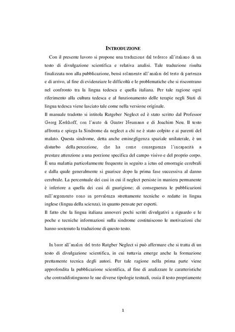 testo scientifico ratgeber neglect proposta di traduzione e analisi di un
