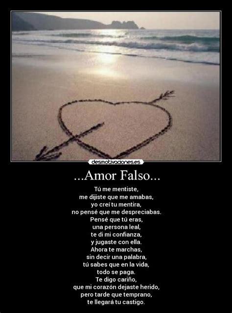 imagenes amor falso amor falso desmotivaciones