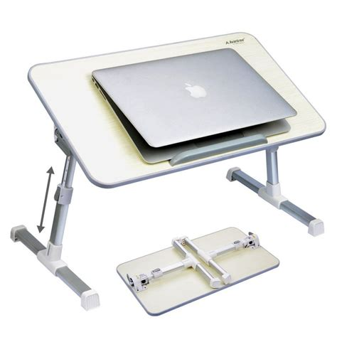 Portable Standing Laptop Desk Adjustable Portable Laptop Lazy Table Stand Sofa Bed Tray Computer Notebook Ebay