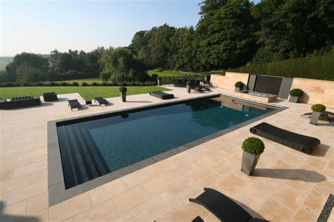 contemporary pool design outdoor pools