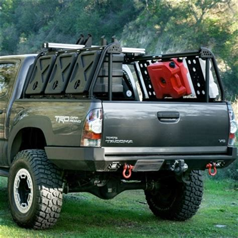 tacoma bed rack system tacoma bed rack active cargo system for short bed toyota