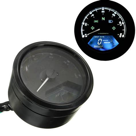 Motorrad Tuning Tacho by 12000 Rmp Lcd Digital Tachometer Drehzahlmesser Tacho