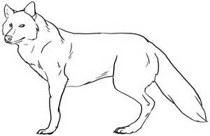 Outlines Of Wolves by Wolf Line 2 By Kendra Candraw On Deviantart