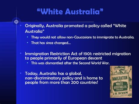 history of australia powerpoint