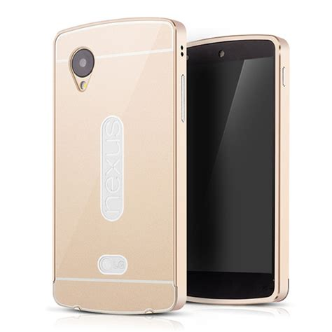 nexus 5 case luxury aluminum bezel pc back cover case