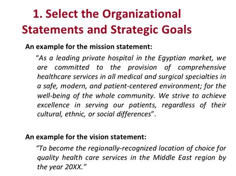 strategy statement template strategic planning for healthcare services