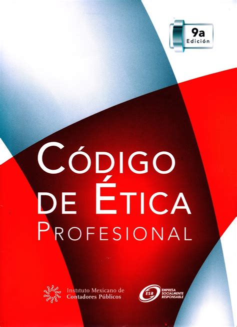 Codigo De Etica Profesional Imcp | codigo de etica profesional imcp 120 00 en mercado libre