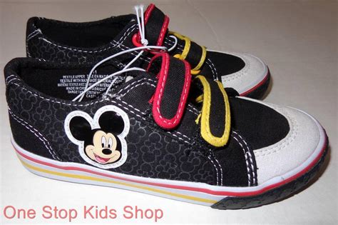 Disney Mickey Shoes 5 mickey mouse boys 5 6 7 8 9 10 11 12 shoes sneakers casual canvas disney